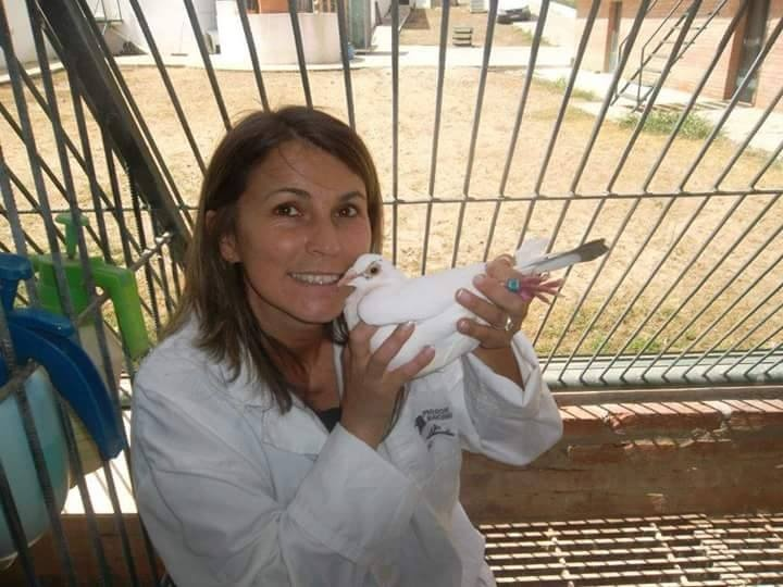 pigeons woman 004