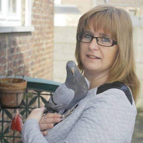 pigeons woman 076