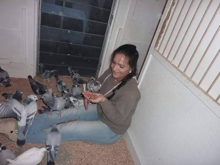 pigeons woman 115