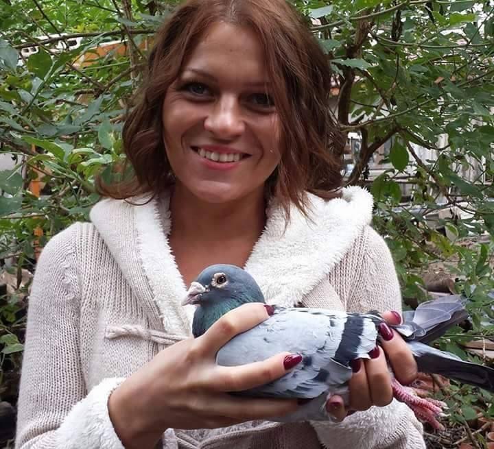 pigeons woman 139