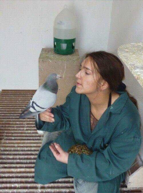 pigeons woman 167