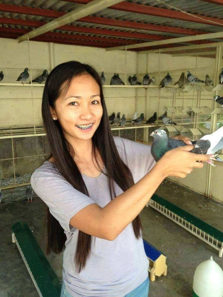 pigeons woman 176