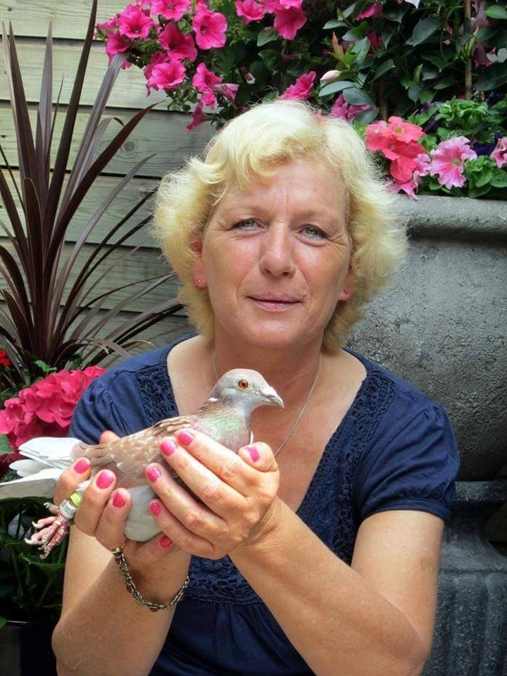 pigeons woman 045