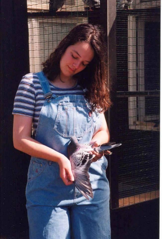 pigeons woman 116