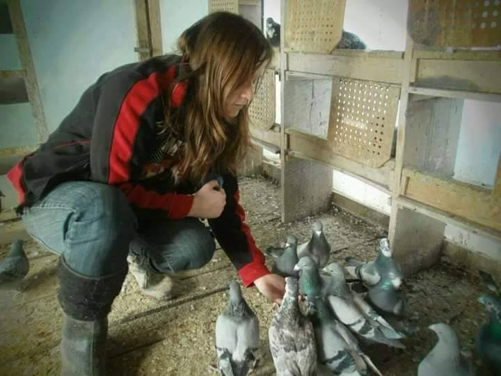pigeons woman 162